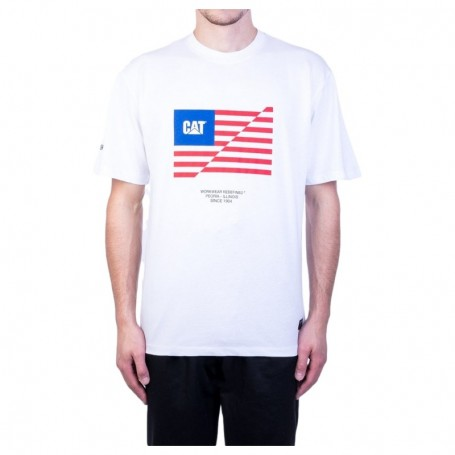 Caterpillar Flag T-Shirt